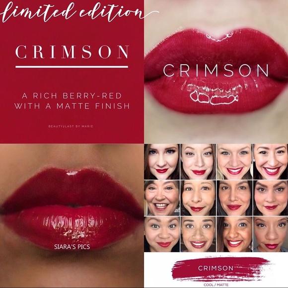 Crimson LipSense - limited edition!